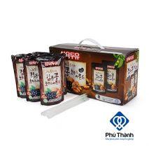 Sữa óc chó hạnh nhân đậu đen Sahmyook thùng 20 túi 190ml