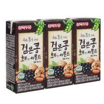 Sữa óc chó hạnh nhân đậu đen Sahmyook hộp 190ml hộp