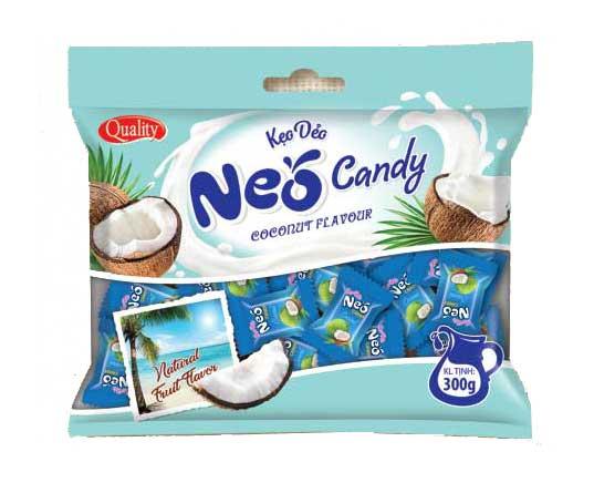 Túi kẹo dẻo NEO Dừa 300g