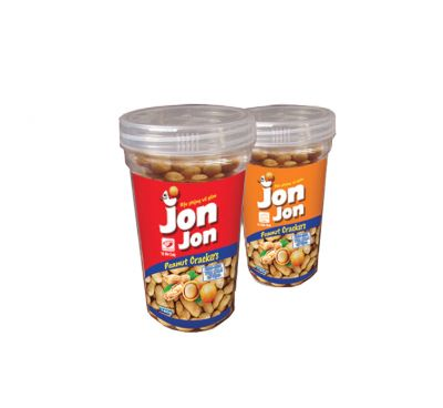 JonJon cốc nhựa 140g( vị cốt dừa hoặc bò cay hoặc phô mai
