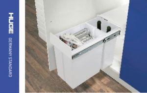 Thùng rác 2 ngăn gắn cánh tủ 400 H-RD400C