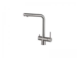 Vòi bếp 3 đường nước inox304 (H-V3111)