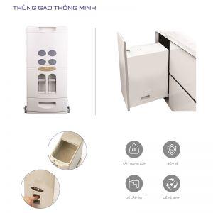 Thùng gạo âm tủ (H-GA300)