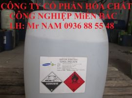 Axit Axetic – Giấm công nghiệp CH3COOH: 99%min
