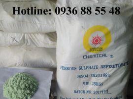 Sắt Sunfate - FeSO4.7H2O - Sắt Sunphat