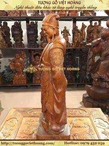 Gia Cát Lượng- Gỗ Hương- 51x17x14