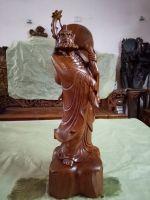 Đạt ma sư tổ- gỗ hương-79x23x23