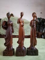 Cô gái 3 miền - gỗ hương - 38x9x8