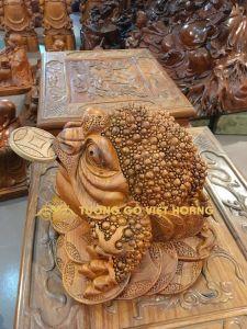 Thiềm thừ- gỗ hương-25x34x28