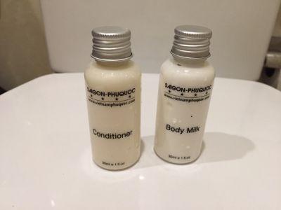 Sữa tắm khách sạn