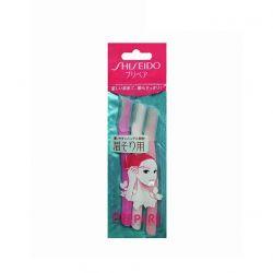 Set 3 dao cạo lông mày Shiseido