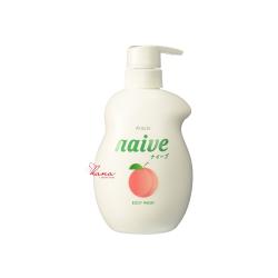 Sữa tắm Naive hương đào