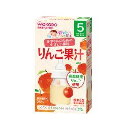 Nước táo cho bé từ 5 tháng (hộp 10 gói) WAKODO