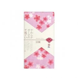 Khăn tắm Nhật Nissen màu hồng