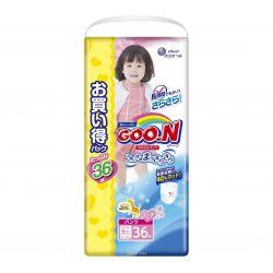 Bỉm Goon XXL36 dạng quần cho bé gái