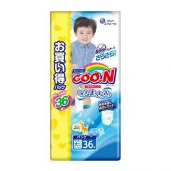 Bỉm Goon XXL36 dạng quần cho bé trai