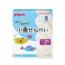 Bánh ăn dặm Pigeon vị cá mòi 6 tháng