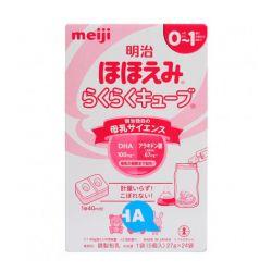Sữa số 0 hộp giấy 24 thanh Meiji Nhật Bản