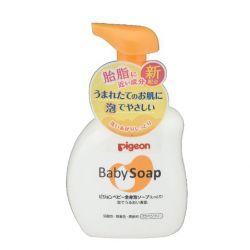 Sữa tắm gội toàn thân cho trẻ sơ sinh Baby Soap Pigeon 500ml - Vàng