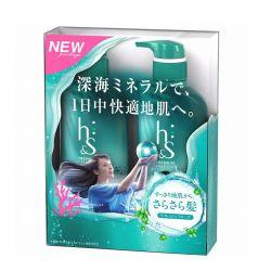 Dầu gội HS xanh lá- Dành cho tóc dầu