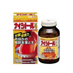 Thuốc giảm cân, đặc trị giảm mở bụng NAISHITORU G 3100MG