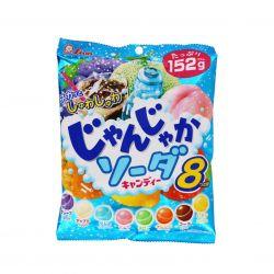 Kẹo Sủi Soda trái cây 8 vị Lion - Nhật Bản