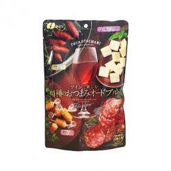 Tổng hợp 4 loại Salami và cheese Natori - Nhật Bản
