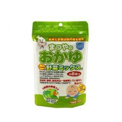 Cháo ăn dặm Matsuya bổ sung 5 loại rau cho bé từ 5 tháng tuổi