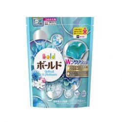 viên giặt xả gelball xanh - dạng túi