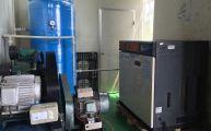 Máy nén khí cung cấp cho các nhà máy may mặc