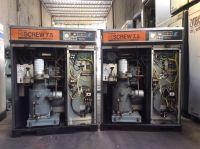 Máy nén khí trục vít HITACHI 7,5 kw có sấy