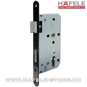 Thân khóa lưỡi gà và chốt chết E55/72A Hafele 911.25.100