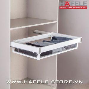 Bộ khay kéo chiều cao 150mm tủ áo Hafele 806.24.304