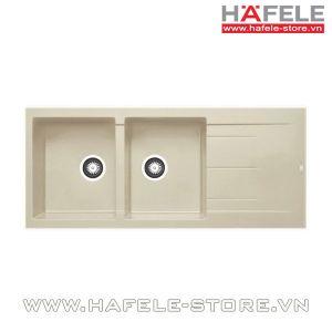 Chậu rửa chén Hafele HS-G11650 màu Mocha 565.83.241