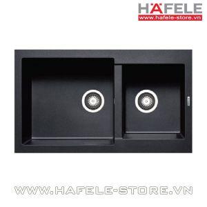 Chậu rửa chén Hafele HS-G8650 màu đen 565.83.351