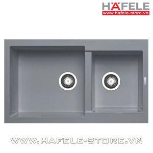 Chậu rửa bát Hafele HS-G8650 màu xám 565.88.501