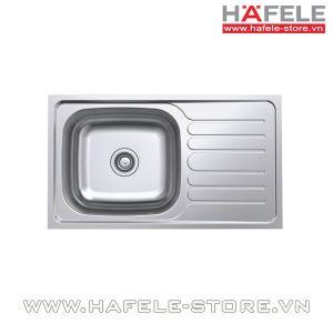 Chậu rửa bát inox Hafele - ROSE II 1B 1D 567.23.093
