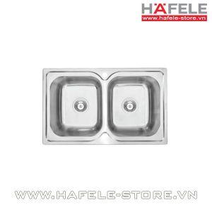 Chậu rửa bát inox Hafele HS-S7848 567.23.010