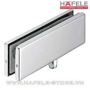 Kẹp kính cửa Hafele trên có trục xoay 981.00.020