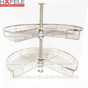 Bộ rổ góc xoay 270 độ hafele cucina