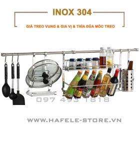 Giá inox treo tường bếp TV-GV2-OD-MS1-ST15