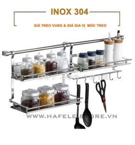 Giá inox treo tường bếp GV1-GVMT-ST12