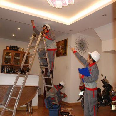 thi công đèn led trang trí tại Hà Nội