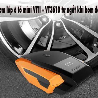 Bơm lốp ô tô mini VITI - VT3610 tự ngắt khi bơm đầy