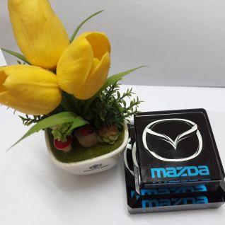 Nước hoa pha lê logo MAZDA