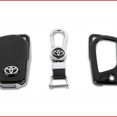 Ốp vỏ chìa khóa Toyota 02 (Đen)
