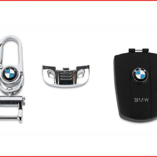 Ốp vỏ chìa khóa xe BMW (Đen)