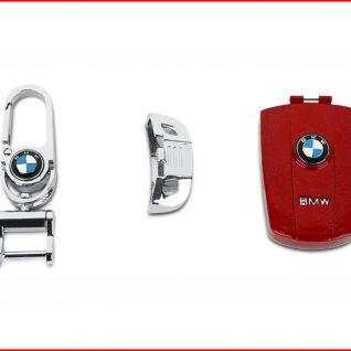 Ốp vỏ chìa khóa xe BMW (Đỏ)