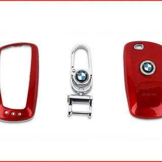 Ốp vỏ chìa khóa xe BMW (Đỏ mới)