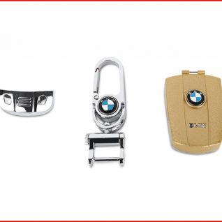 Ốp vỏ chìa khóa xe BMW (Vàng)